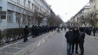 Суд по делу правосеков в Ужгороде