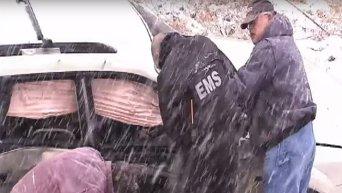 Смертельные бури на Юге США. Видео