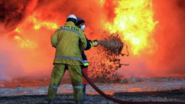 Ливийские пожарники. Архивное фото