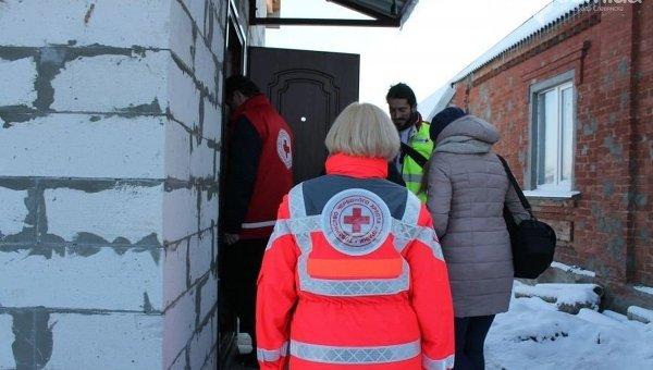 Красный Крест восстановил 10 разрушенных домов в Славянске