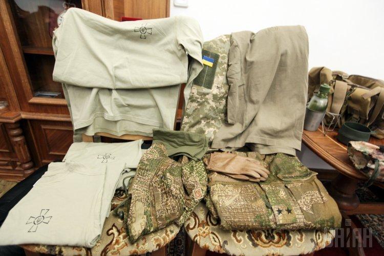 Презентация новых образцов формы одежды и продовольственных пайков для ВСУ