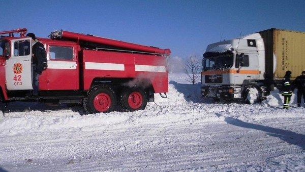 Движение на основных магистралях Украины