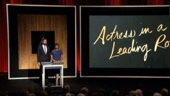 Расовый скандал из-за Оскара. Видео