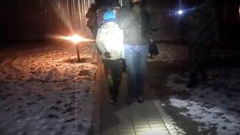 Задержание нелегальных мигрантов на Закарпатье. Видео