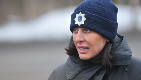 Глава Национальной полиции Украины Хатия Деканоидзе