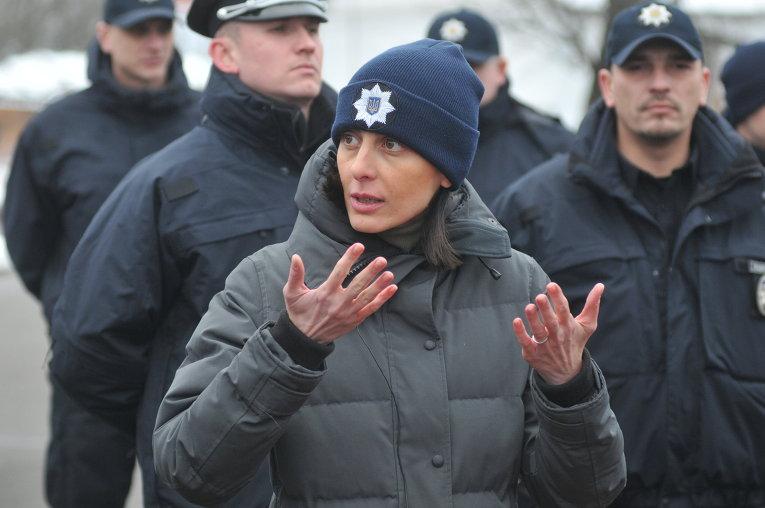 Председатель Национальной полиции Украины Хатия Деканоидзе
