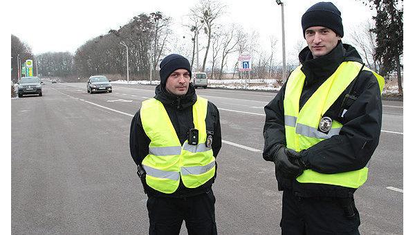 Патрульная полиция во Львовской области