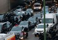 Протесты таксистов во Франции