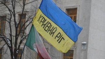 Акция за перевыборы мэра в Кривом Роге. Архивное фото