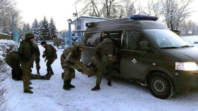Десантники в зоне АТО готовятся к боевым действиям в городских условиях