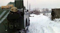 Военные в зоне АТО. Архивное фото