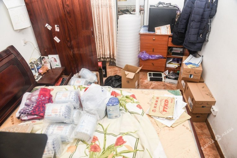 Спецоперация СБУ во вьетнамском квартале в Одессе