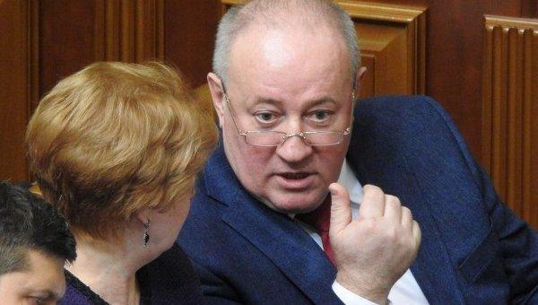Виктор Чумак в зале Верховной Рады