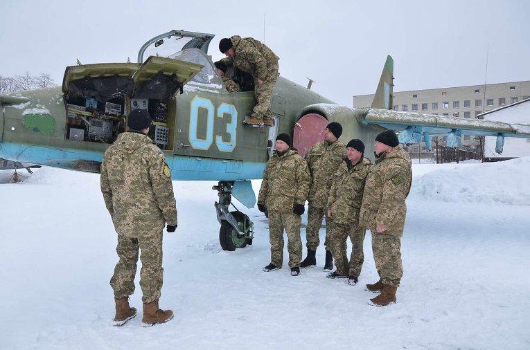 Подготовка украинских летчиков в Харькове.