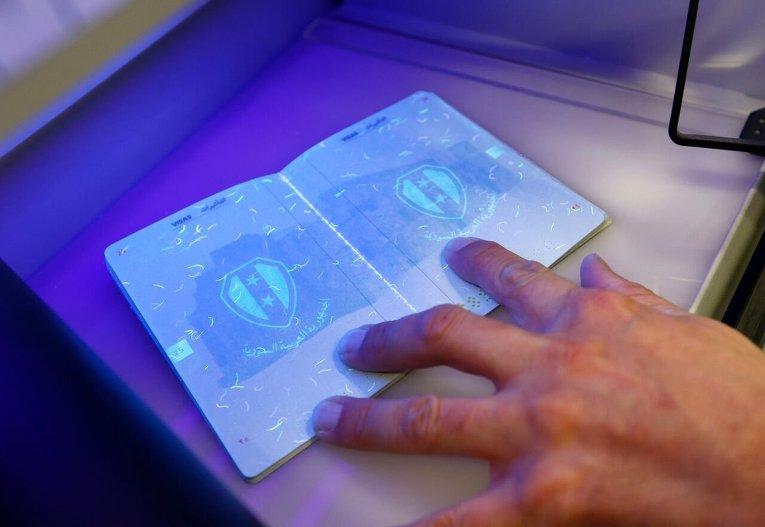 В Германии вводится система выдачи паспортов беженцев и контроля миграции.
