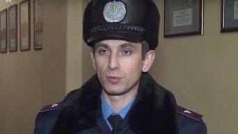 В Киеве задержанный на краже вскрыл вены в магазине