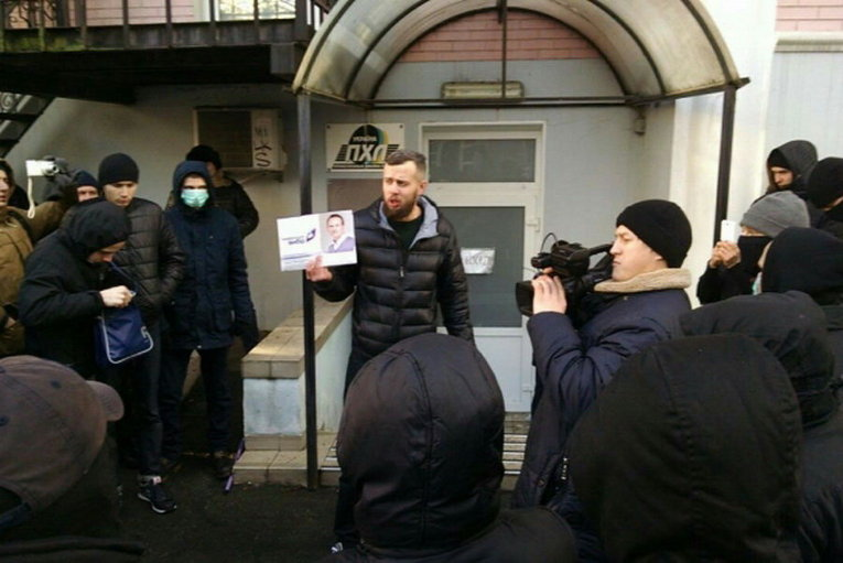 Азов сорвал мероприятие Украинская выбора