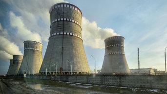 Ровненская атомная электростанция в Кузнецовске.