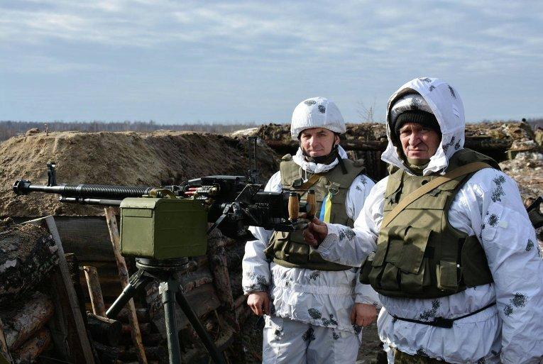 Масштабные учения ВСУ на житомирском полигоне