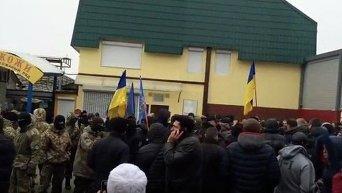 Полиция и Нацгвардия взяли 7 километр в Одессе в кольцо