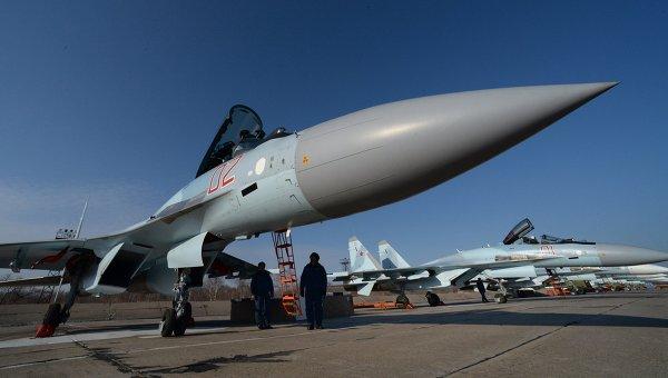 Новые истребители Су-35С