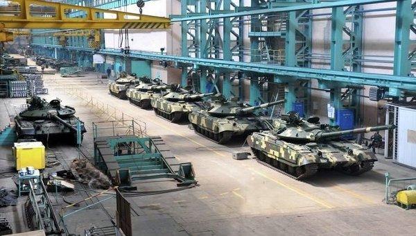 На танковом заводе имени Малышева в Харькове. Архивное фото