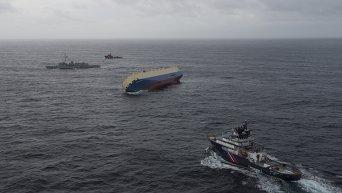 Крушение грузового судна Modern Express