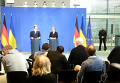 Заявление Порошенко и Меркель для прессы в Берлине