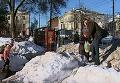 Две жертвы ледяных глыб в Полтаве: комментарии жителей и спасателей. Видео