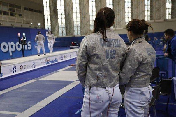 Украинские саблистки победили на этапе Кубка мира по фехтованию в Греции