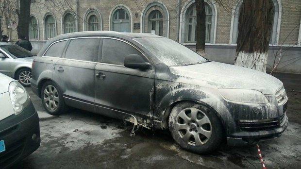 Подрыв автомобиля адвоката Федура