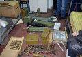 Арсенал оружия, изъятый в Красноармейске