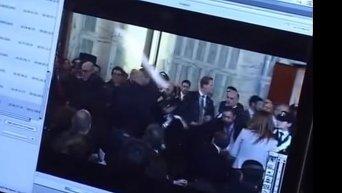 Пресс-конференция Керри в Италии закончилась потасовкой. Видео