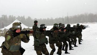 В Учебном центре Национальной гвардии Украины. Архивное фото