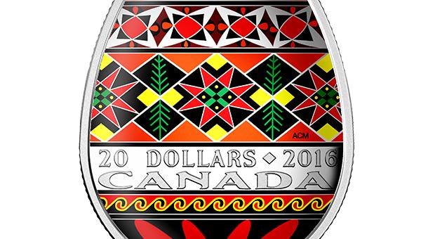 Украинская писанка появится на памятных монетах Канады