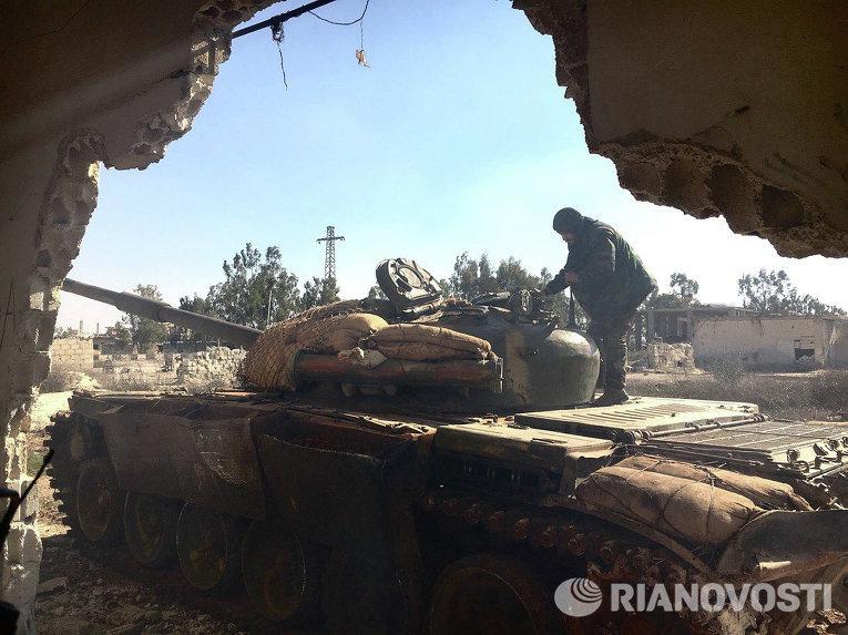 Населенный пункт Осман в провинции Дераа подвергся штурму сирийской армии (ФОТО)
