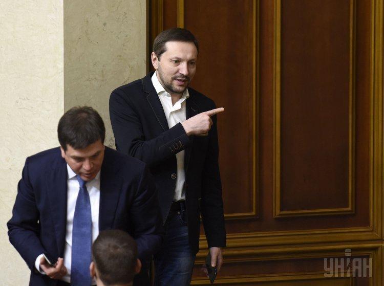Министр информации Юрий Стець