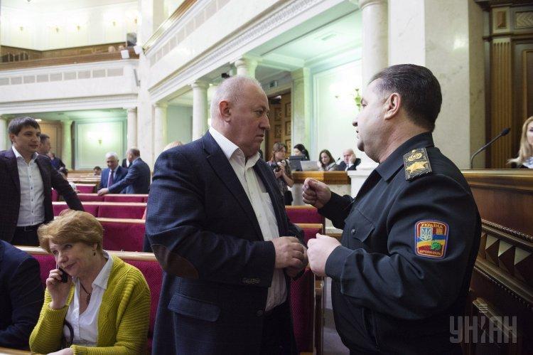 Виктор Чумак и Степан Полторак