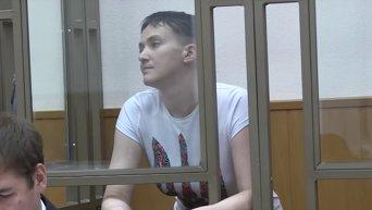 Судебное заседание по делу Савченко: показания взрывотехника. Видео