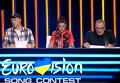 Андрей Данилко, Руслана и Константин Меладзе во время первого полуфинала национального отбора на Евровидение-2016