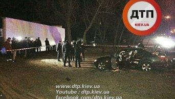 Полицейская погоня со стрельбой в Киеве