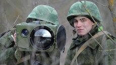 Учения бригады специального назначения ЮВО в РФ