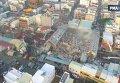 Землетрясение на Тайване. Видео