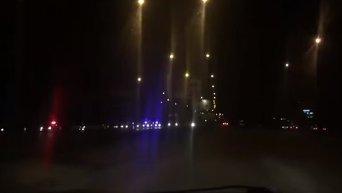 Задержание BMW в Киеве. Видео