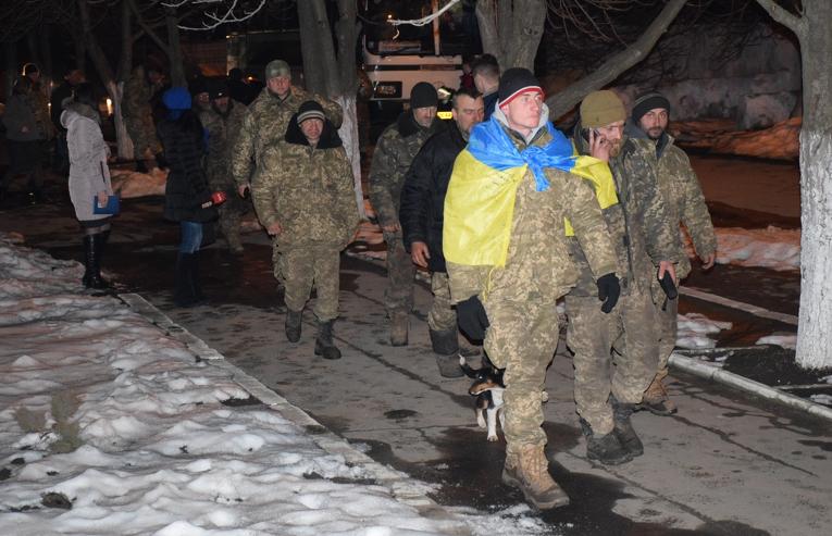 Бойцы ВСУ встретились с николаевским прокурором