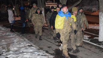 Шествие бойцов 53-й отдельной механизированной бригады на Николаев