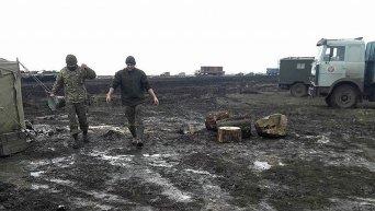Условия несения службы и проживания на общевойсковом полигоне Широкий Лан в Николаевской области