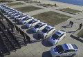 Присяга новой полиции в Херсоне