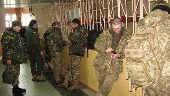 Банный день бойцов ВСУ
