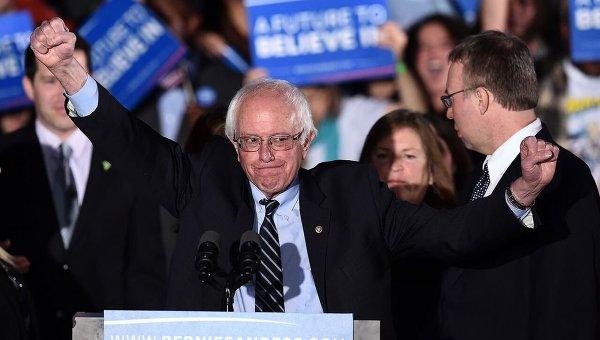 Сандерс победил Клинтон накокусах вштате Мэн